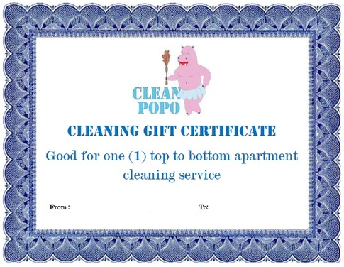 Clean Popo Gift Certificate