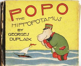 Popo the Hippopotamus Book